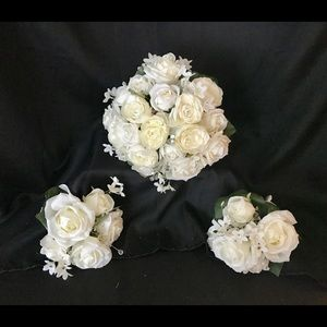 Other - Wedding Bouquet and two matching Bridal Bouquets